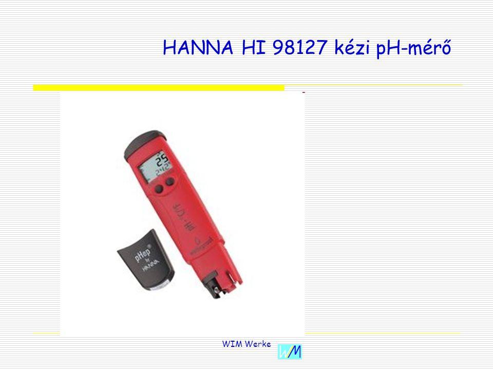 WIM Werke HANNA HI 98127 kézi pH-mérő