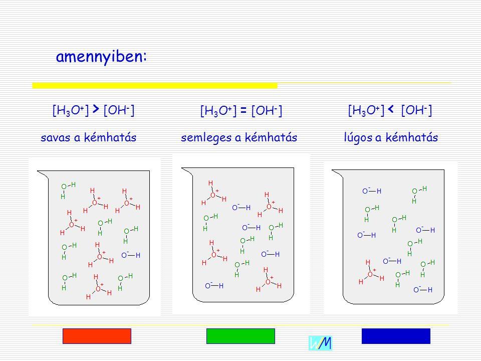 WIM Werke A kémhatás AA kétféle ion koncentrációjának egymáshoz viszonyított arányát a kémhatással jellemezzük, ami az oldatok egyik fontos jellemzője.