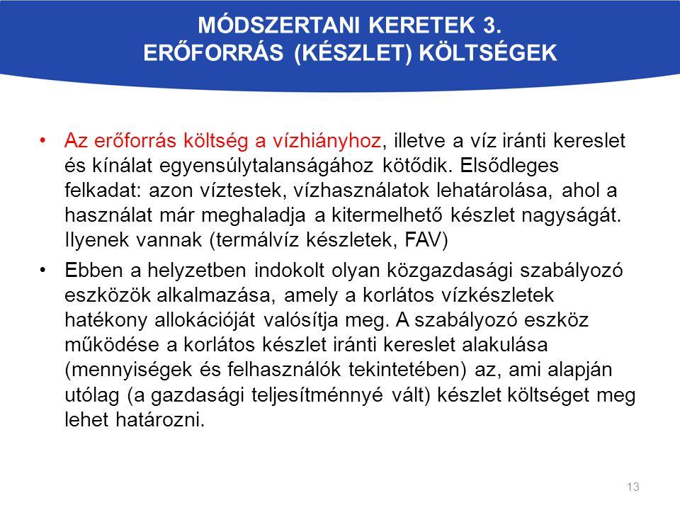 MÓDSZERTANI KERETEK 3.