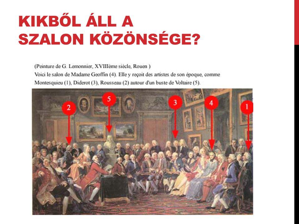 KIKBŐL ÁLL A SZALON KÖZÖNSÉGE?