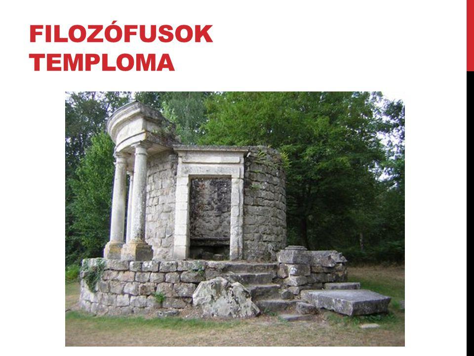 FILOZÓFUSOK TEMPLOMA