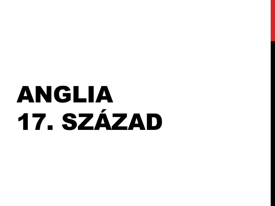 ANGLIA 17. SZÁZAD