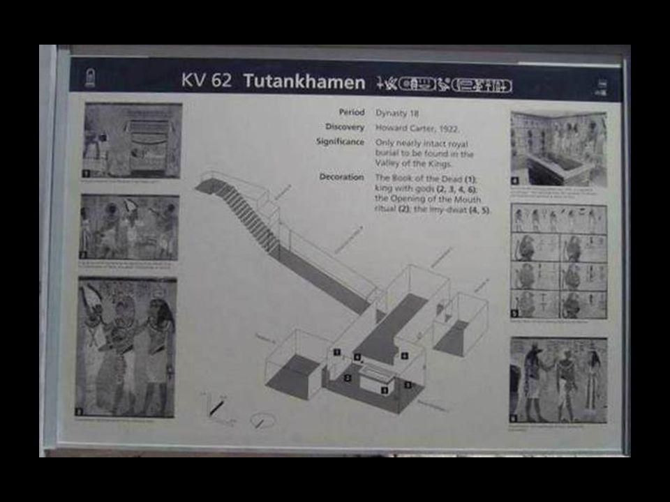 A Királyok Völgyének bejárata, Tutanhamon sírja.