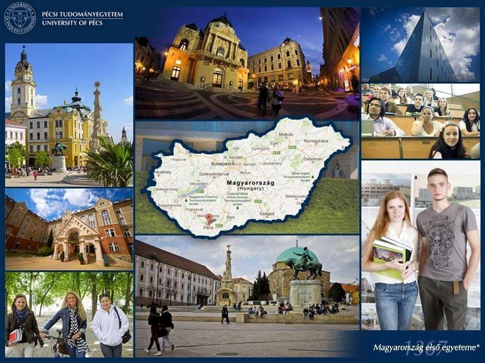 A Pécsi Tudományegyetem stratégiai céljai -Magyarország 3 legjobb egyeteme közé kerüljön a PTE -Magyarország első vállalkozó egyeteme legyen -Hatékonyan működtetett, párhuzamosságoktól mentes képzési struktúra, innovatív képzési formák -Nemzetköziesítés erősítése: nemzetközi hallgatói létszám emelése több tudományterületen, nemzetközi K+F projektek számának emelése -Kutatási aktivitás erősítése elsősorban orvosi –biotechnológiai és műszaki- informatikai területeken -Együttműködés a gazdaság szereplőivel mind regionális, mind hazai és nemzetközi szinten konkrét vállalati igények mentén mind oktatási, mind kutatási témák alapján -Innovációs képességek erősítése vállalati igények alapján: 3D Innovációs központ felállítása -Szentágothai Kutatóközpont K+F+I+V potenciáljának erősítése -2017-ben 650 éves a PTE – az évforduló előkészítése stratégiai irányok alapján