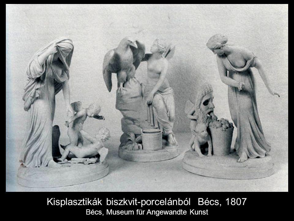 Kisplasztikák biszkvit-porcelánból Bécs, 1807 Bécs, Museum für Angewandte Kunst