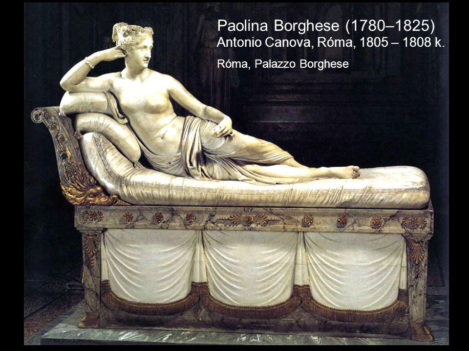 Paolina Borghese (1780–1825) Antonio Canova, Róma, 1805 – 1808 k. Róma, Palazzo Borghese