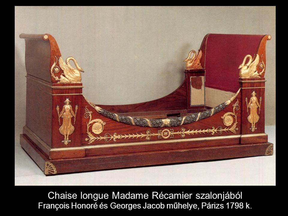 Chaise longue Madame Récamier szalonjából François Honoré és Georges Jacob műhelye, Párizs 1798 k.
