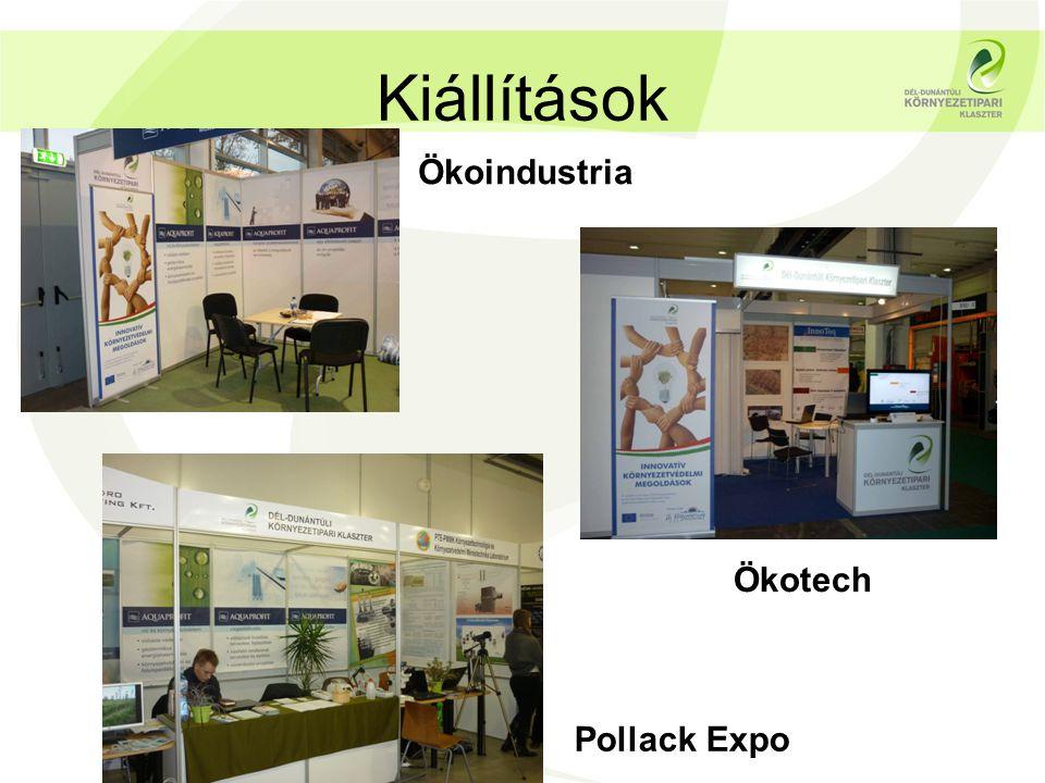 Kiállítások Pollack Expo Ökotech Ökoindustria