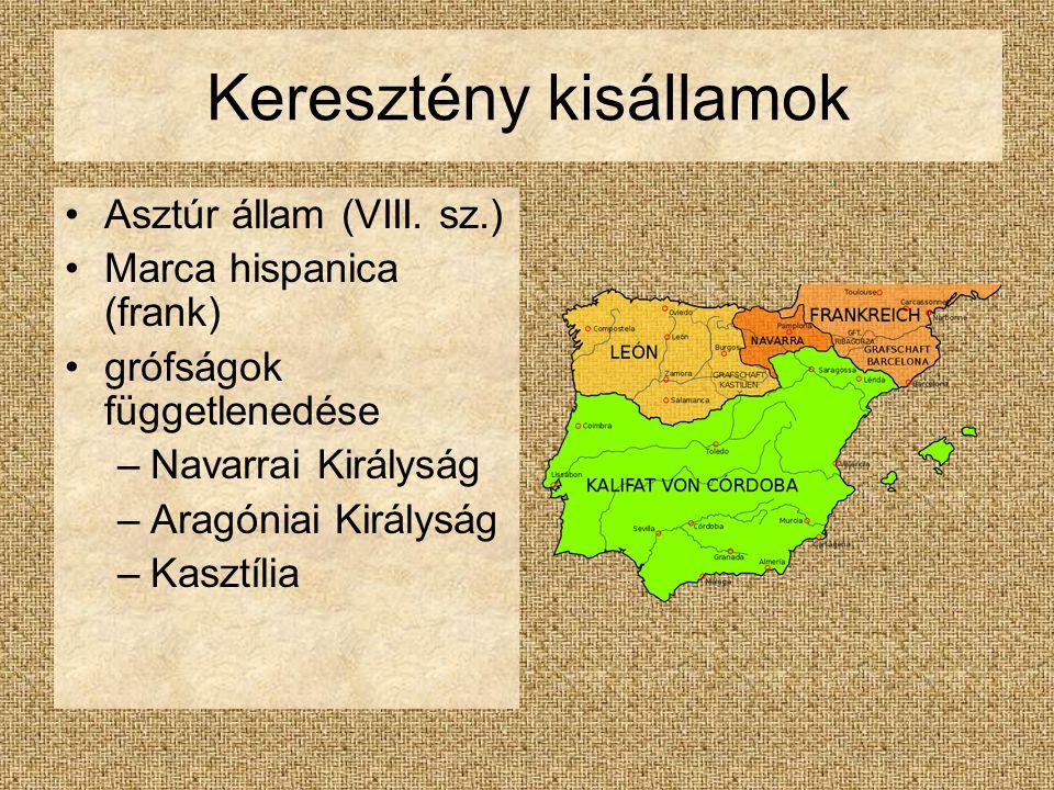 Keresztény kisállamok Asztúr állam (VIII.