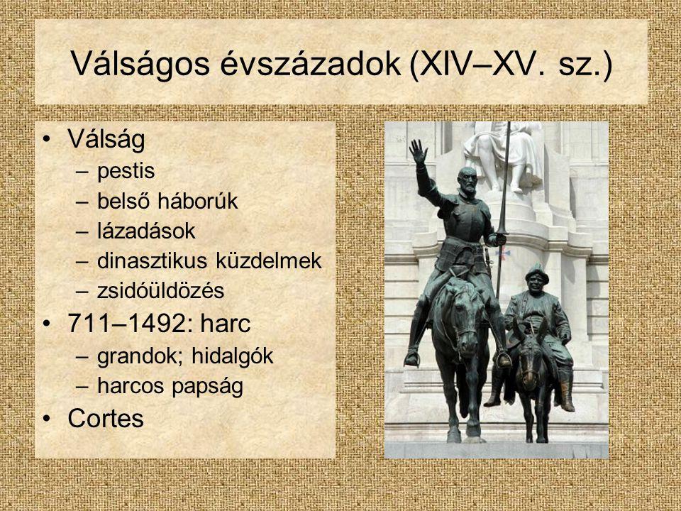Válságos évszázadok (XIV–XV.