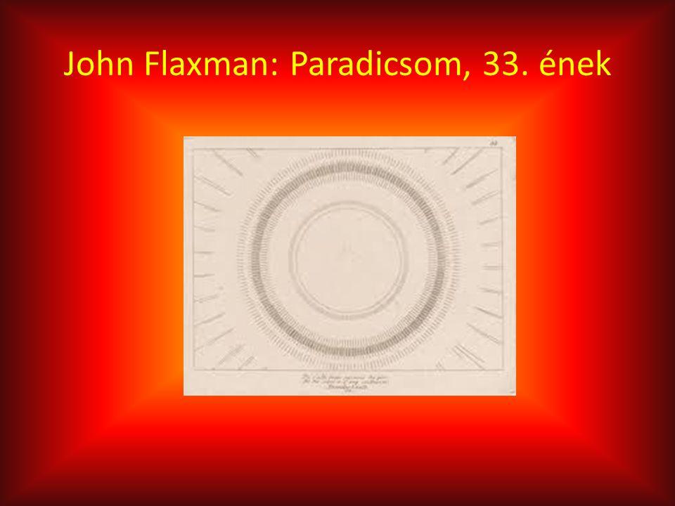John Flaxman: Paradicsom, 33. ének