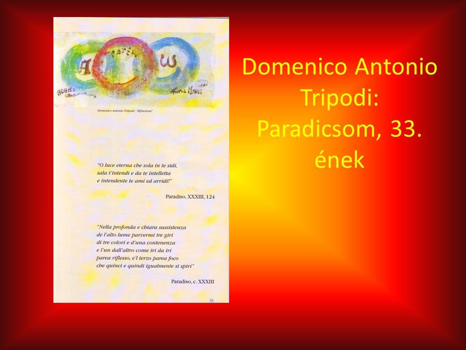 Domenico Antonio Tripodi: Paradicsom, 33. ének