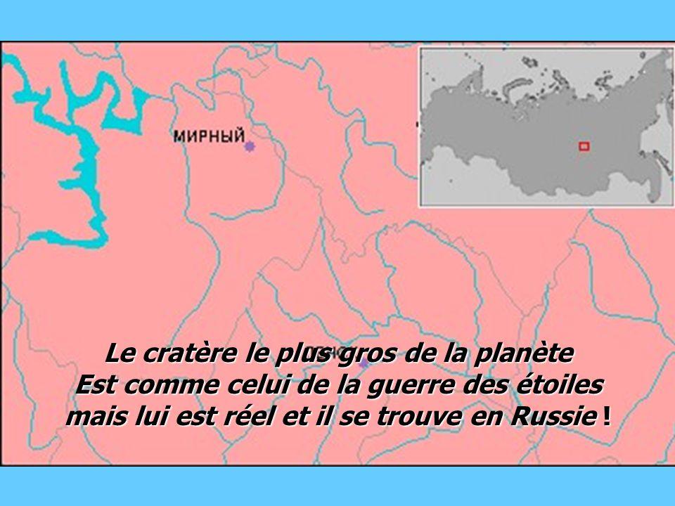 Le cratère le plus gros de la planète Est comme celui de la guerre des étoiles mais lui est réel et il se trouve en Russie !