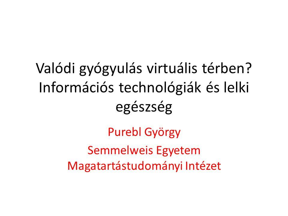 Valódi gyógyulás virtuális térben.