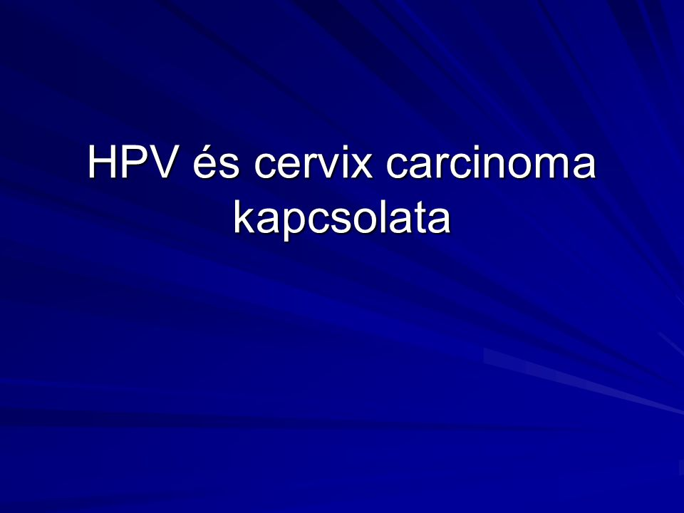 A HPV Filogenezise 31 16 35 45 18 39 11 6 33 Chan et al., J Virology, 69:3074-83 (1995) Human genitális mucosa papillomavirusok Állati papillomavirusok Humán bőrfelszíni papillomavirusok