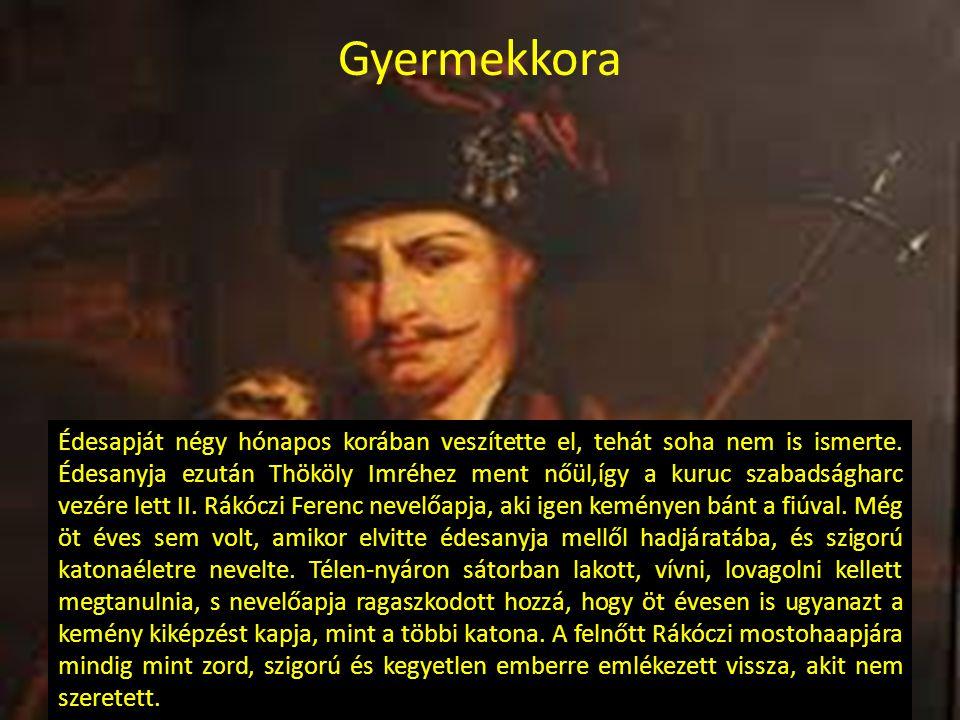 Elszakadás a családtól Amikor Thököly Imrét a török fogságba vetette, felesége, Zrínyi Ilona ellenállt a Habsburgok hódító szándékának.