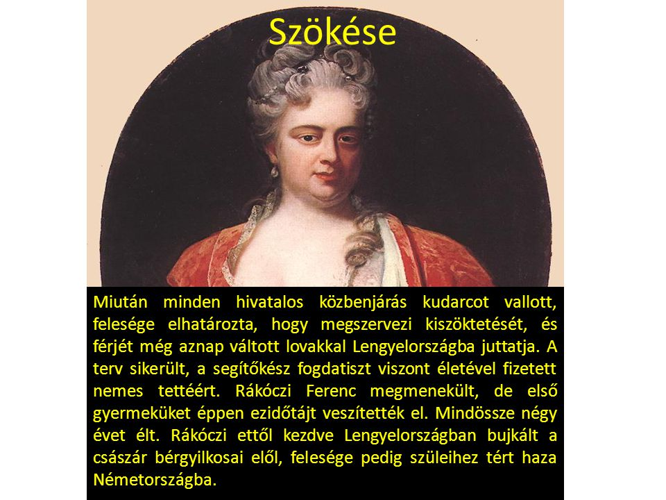A szabadságharc kezdete A kuruc bujdosók vezetője, a jobbágy származású Esze Tamás küldöttség élén Lengyelországban felkereste Rákóczi Ferencet.