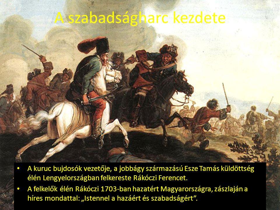 Az első sikerek Rákóczi növekvő serege győzedelmesen nyomult nyugat felé.