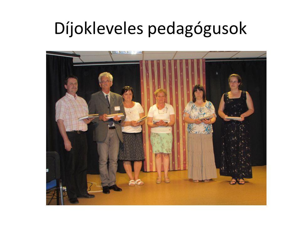 Díjokleveles pedagógusok