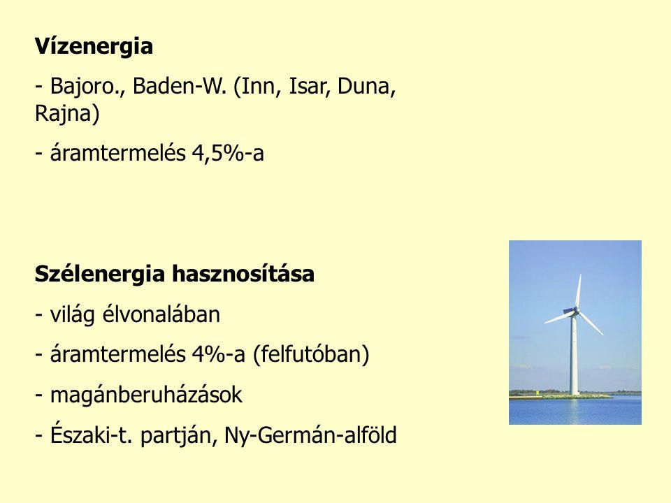 Vízenergia - Bajoro., Baden-W.