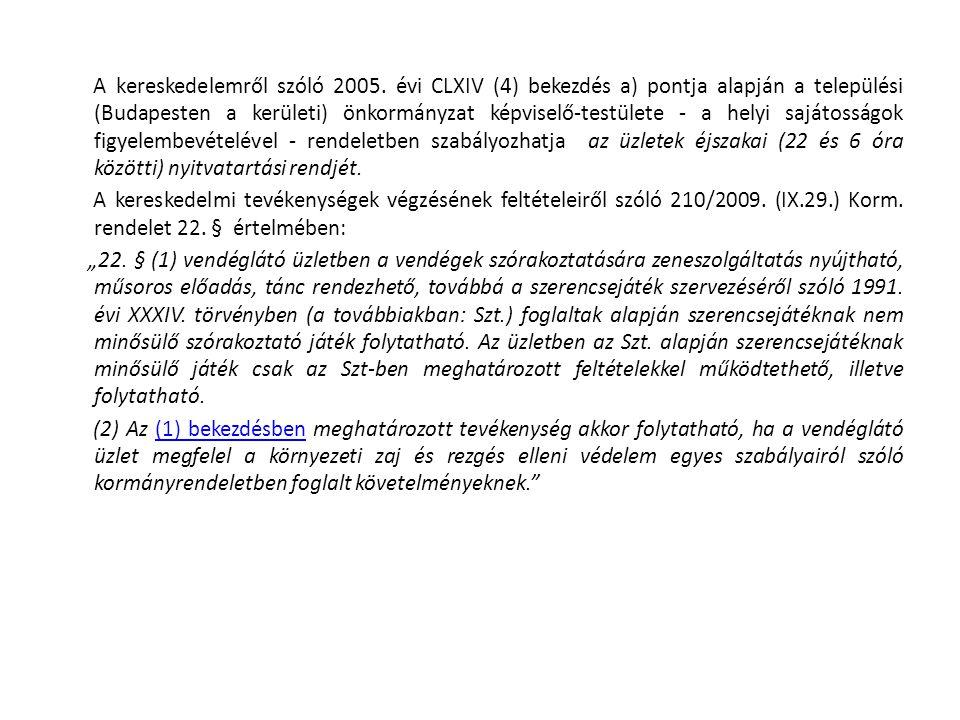 A kereskedelemről szóló 2005.