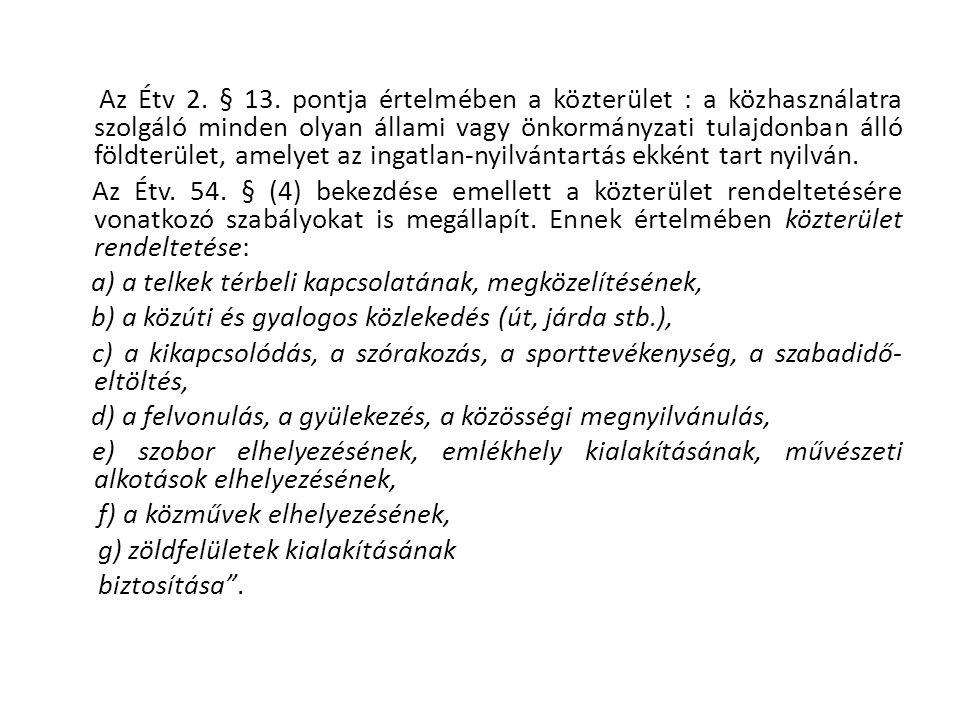 """""""A közterület-felügyeletről szóló 1999.évi LXIII."""