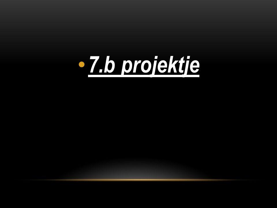7.b projektje 7.b projektje