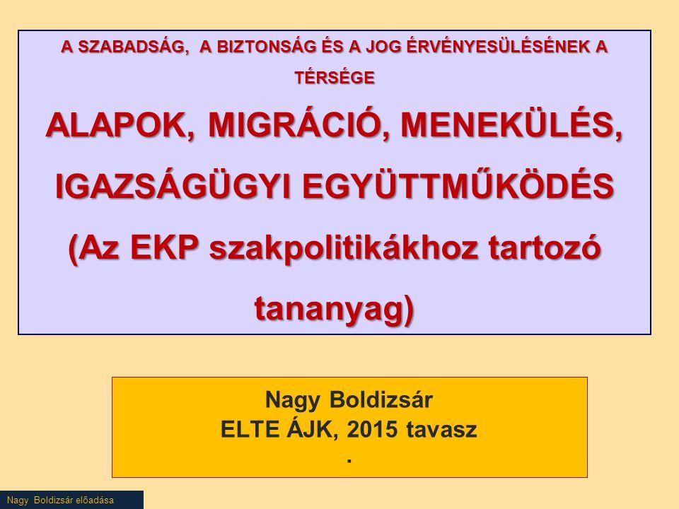 AZ EURÓPAI PARLAMENT ÉS A TANÁCS 2013/32/EU IRÁNYELVE (2013.