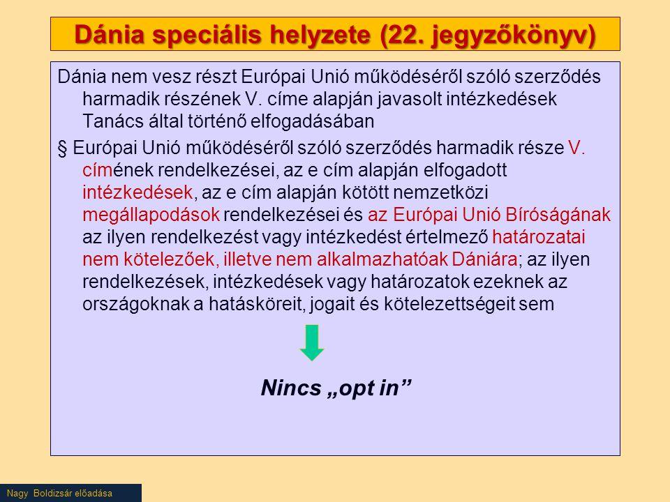 Nagy Boldizsár előadása Dánia speciális helyzete (22.