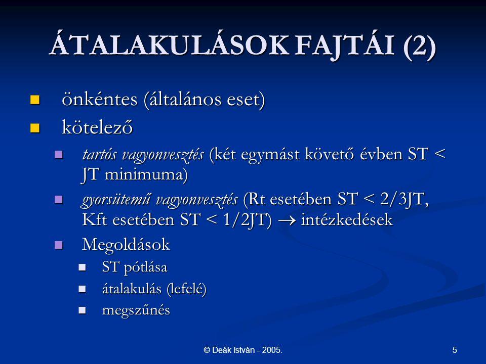 16© Deák István - 2005.