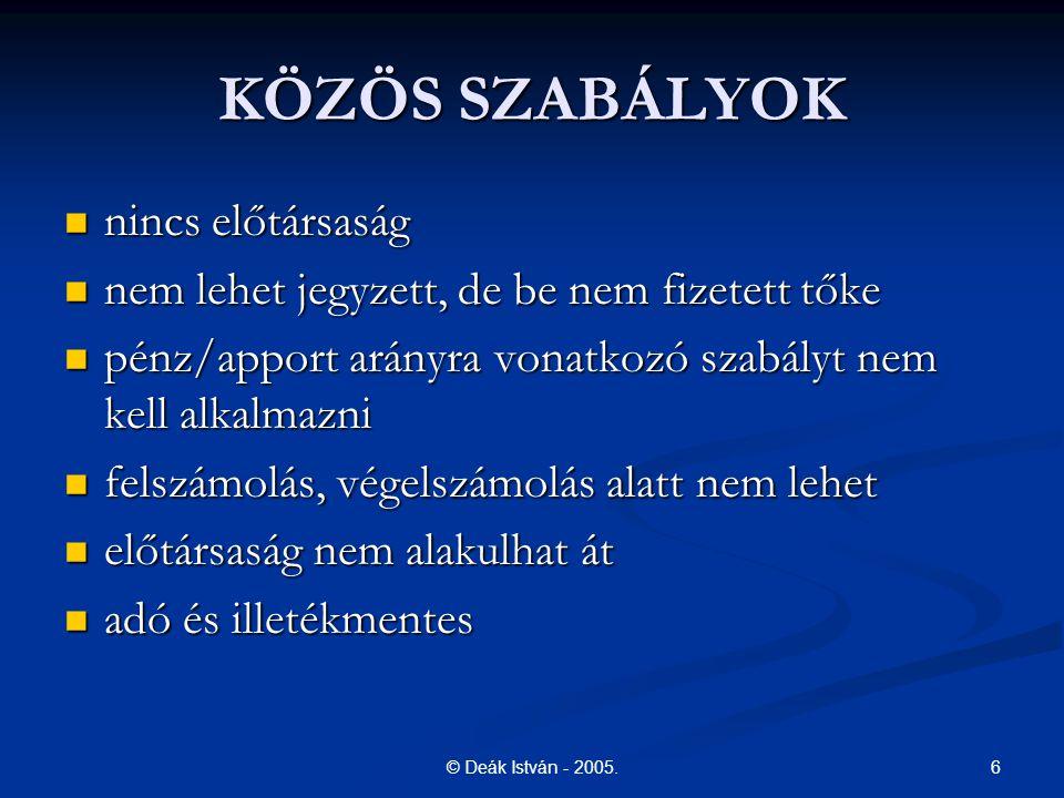 17© Deák István - 2005.