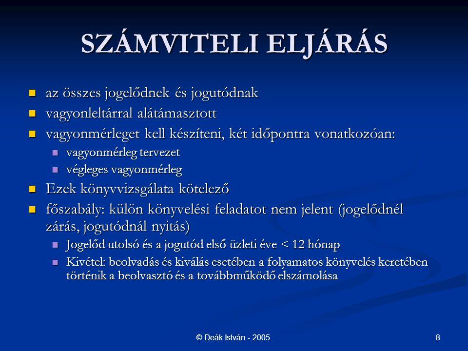 19© Deák István - 2005.