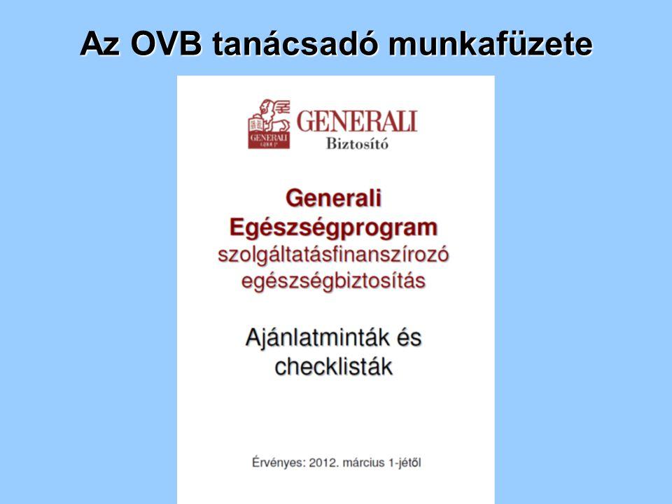 Az OVB tanácsadó munkafüzete