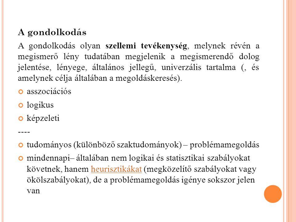 3.NYELV, BESZÉD, GONDOLKODÁS Viszonyuk nyelvfilozófia i kérdés G.