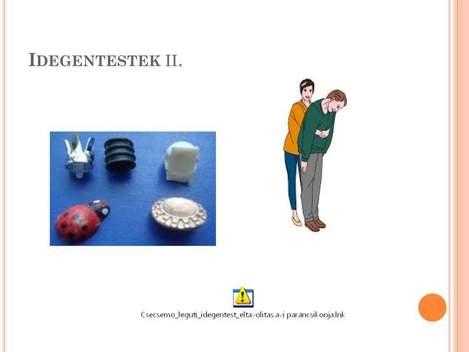 I DEGENTESTEK II.