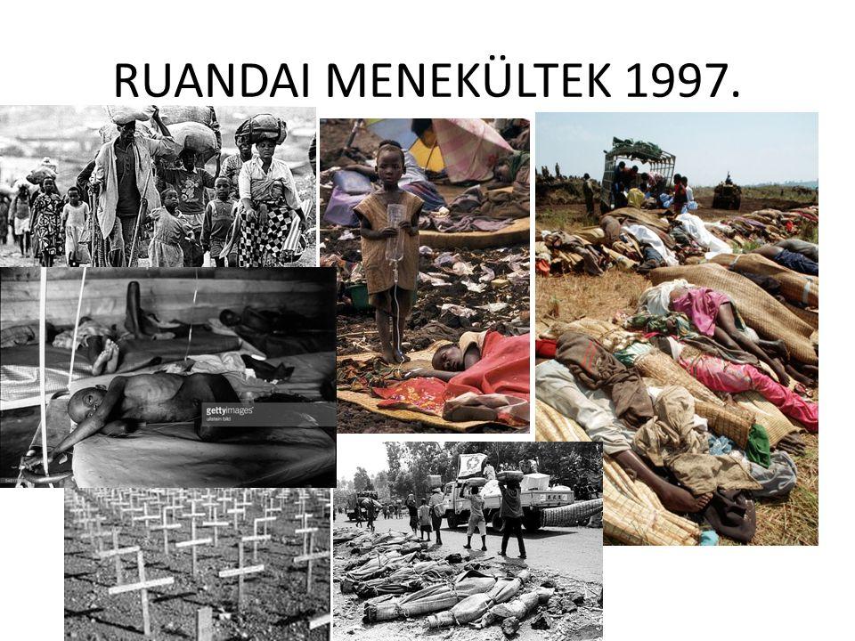 RUANDAI MENEKÜLTEK 1997.