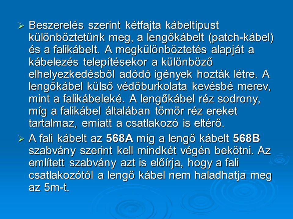 FTP - S/FTP  Az ScTP vagy FTP = Foiled Twisted Pair, fóliával bevont csavart érpárok.