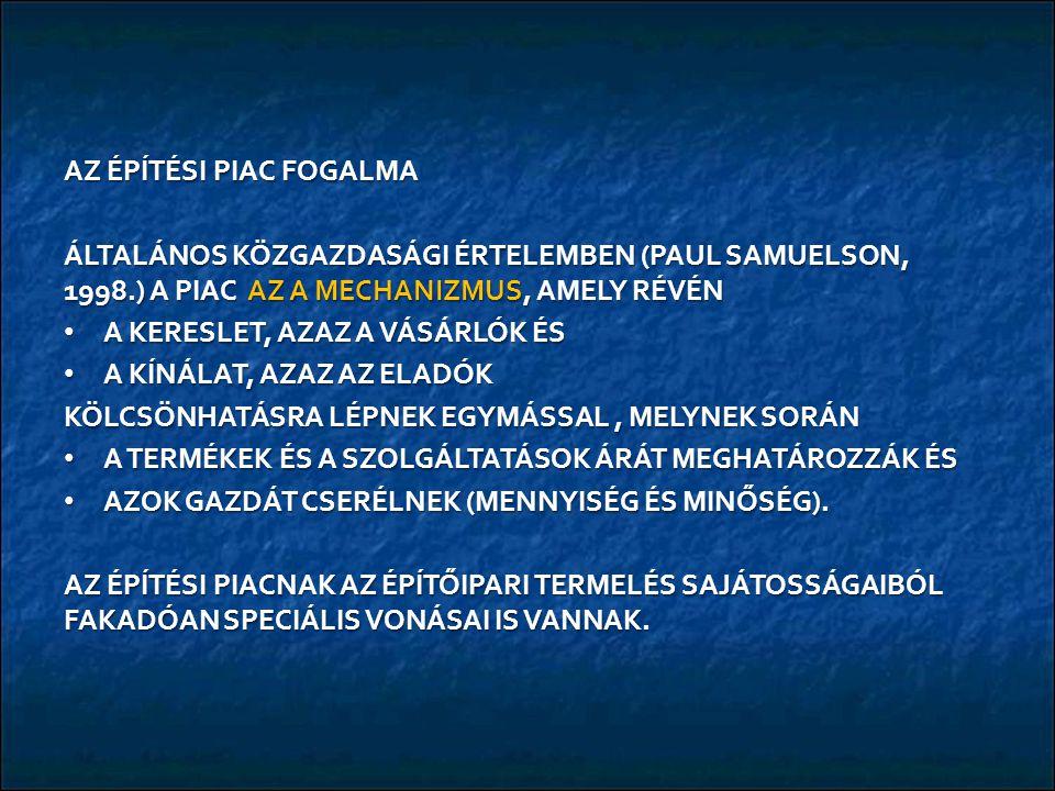 AZ EURÓPAI ÉPĺTŐIPARI TOPLISTA / ÉLBOLY 1.VINCI (francia) VILÁGRANGLISTA 5.