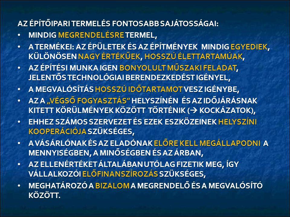 RÖVID TÁVÚ MAGYARORSZÁGI ÉPÍTŐIPARI PROGNÓZIS A KÖZSZFÉRA ÉPÍTÉSI IGÉNYEINEK VÁLTOZÁSA VÁLTOZATLANUL AZ EU 2008-2013.