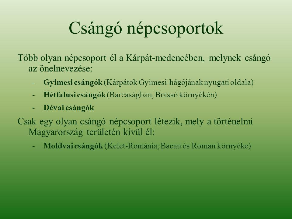 A dévai csángók Dévai csángóknak nevezik azt a székely néptöredéket, melynek tagjai az 1880-as években Bukovinából települtek át Déva környékére.