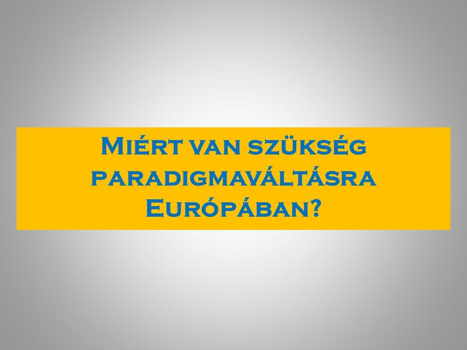 Miért van szükség paradigmaváltásra Európában