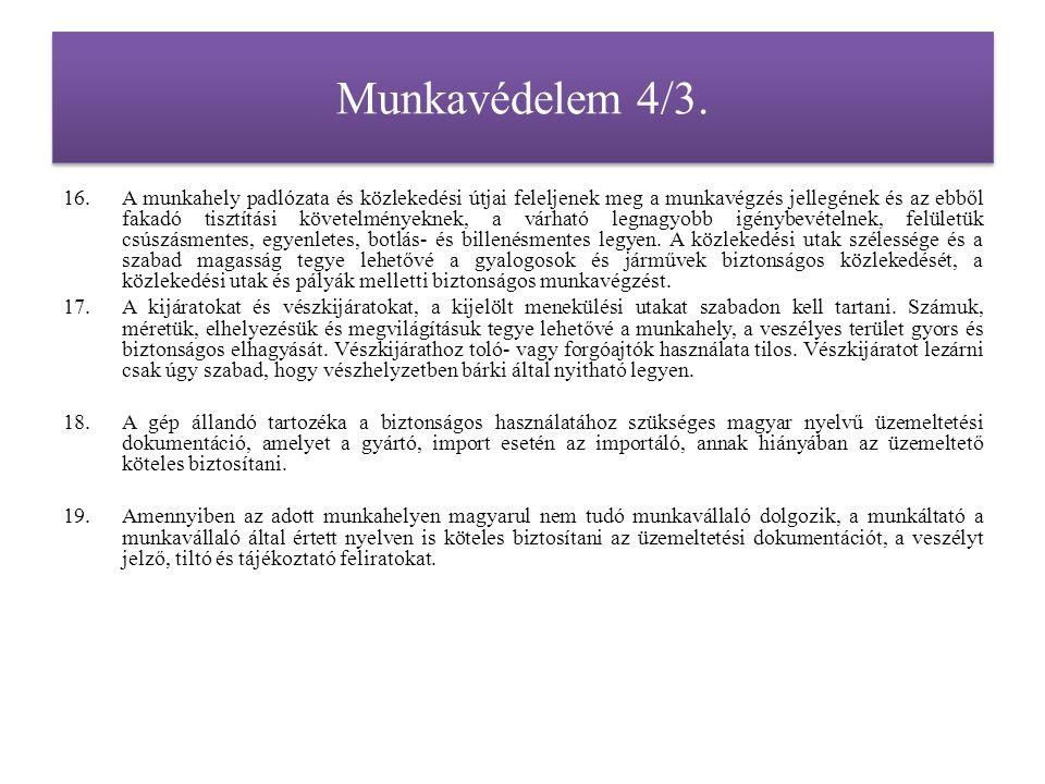 Munkavédelem 5.