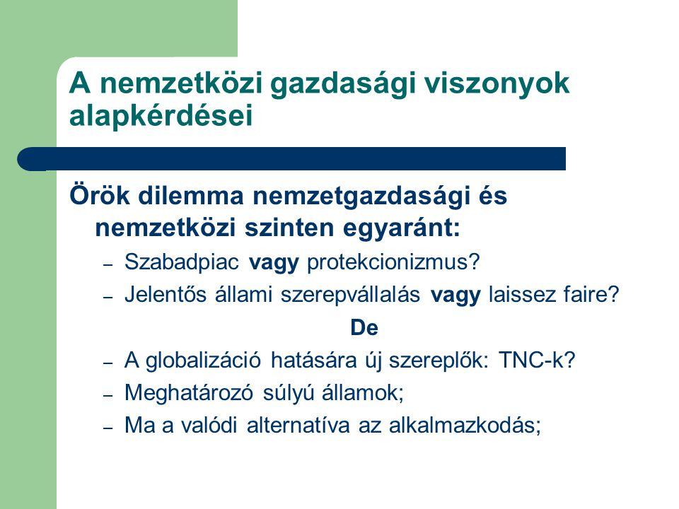 Klasszikus közgazdaságtan XVIII-XIX.