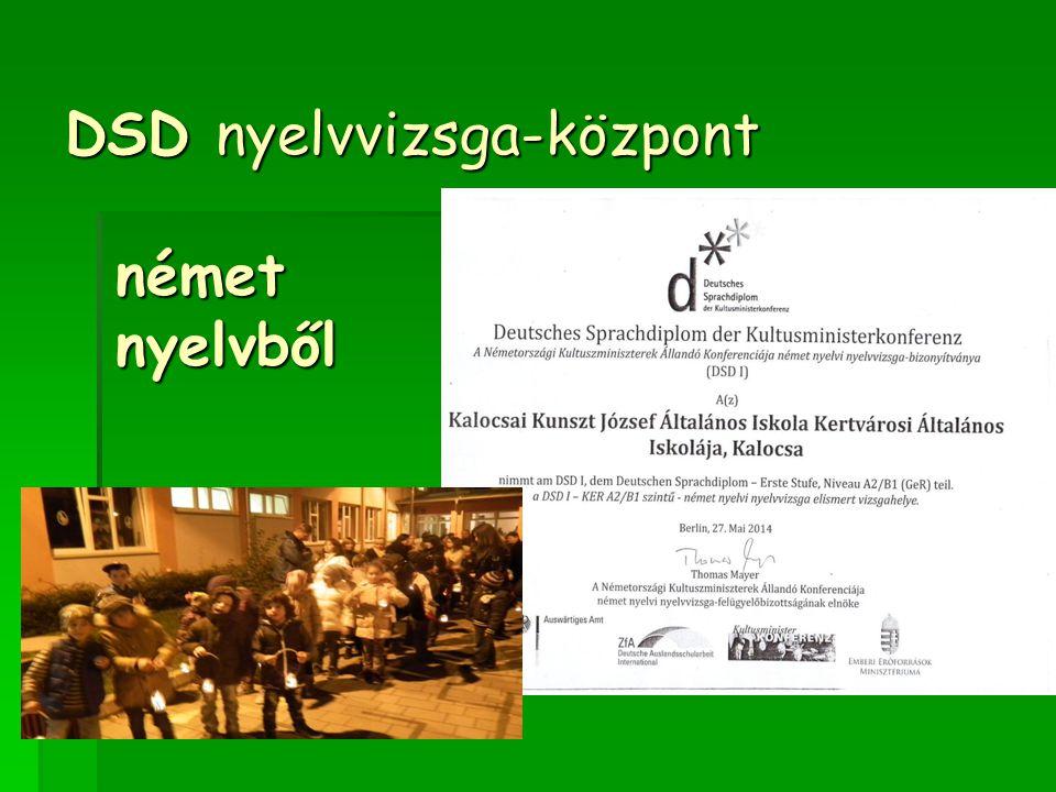 DSD nyelvvizsga-központ német nyelvből