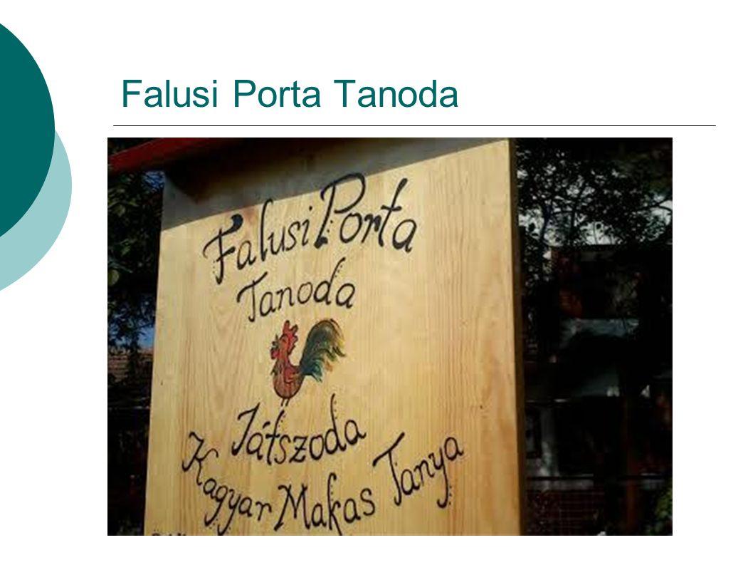 Falusi Porta Tanoda