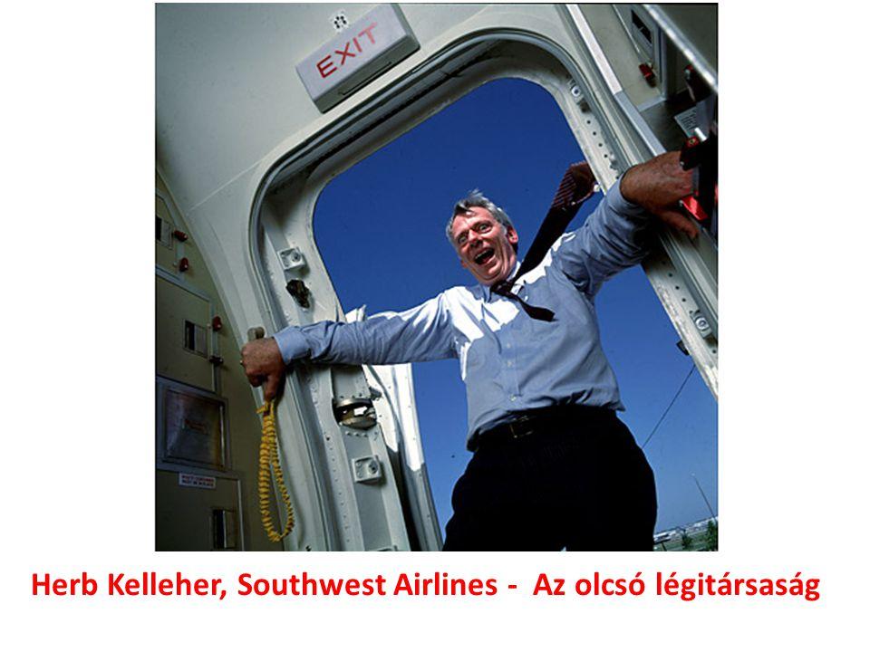 Herb Kelleher, Southwest Airlines - Az olcsó légitársaság