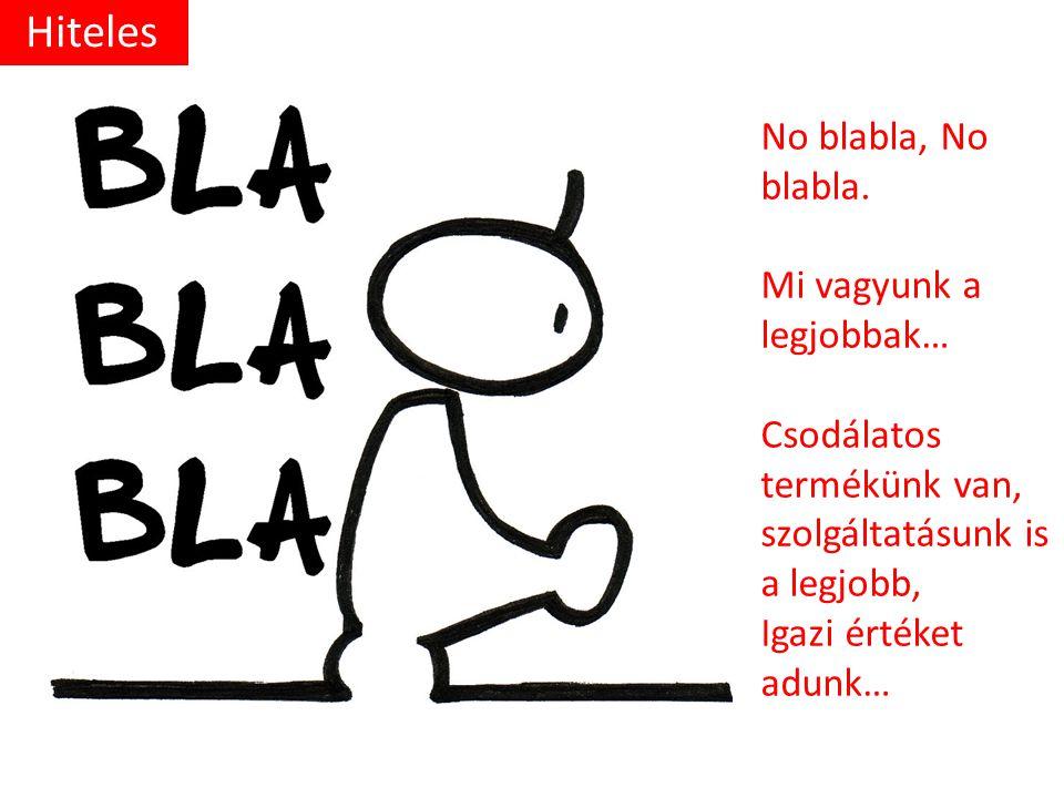 No blabla, No blabla.