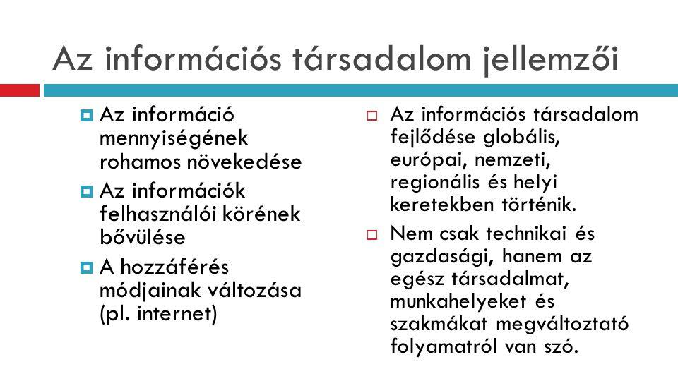 """A felelősségi körök, feladatok  Informatikai tervek összehangolása vállalati tervekkel: általános és speciális területeken, folyamatosan (információmenedzselés)  ISZ (informatikai, információs szolgáltatás) összehangolása vállalati tevékenységeken belül, a szolgáltatásokban  Vállalati egyedi K+F kiszolgálása  Részvétel döntésekben az ISZ erőforrásokról  """"mindenki IT tanácsadója szerep"""