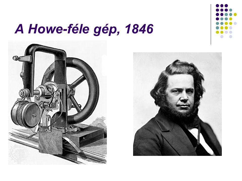 A Howe-féle gép, 1846
