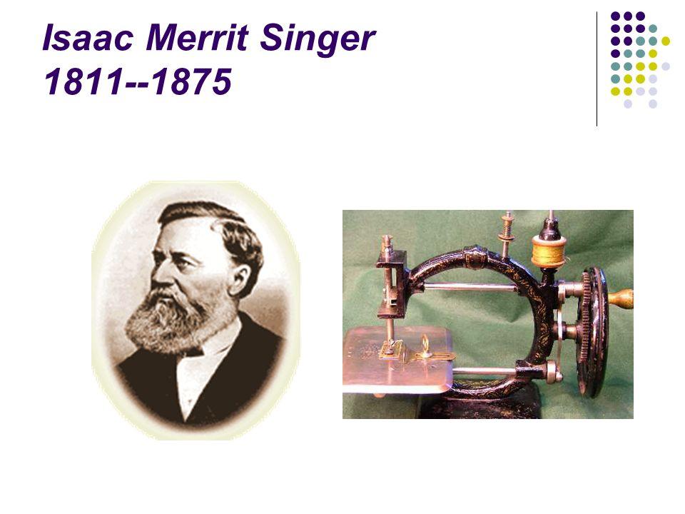 A varrógép történetében a legjelentősebb állomás 1852.